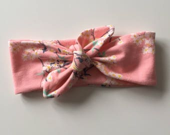 Jersey tie for baby, child, adult headband / size 6-12months