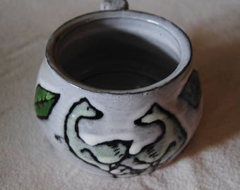 Ceramic bowl and mug set