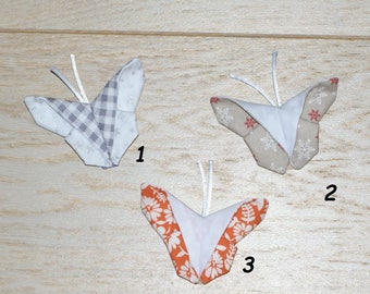origami Butterfly hairclip