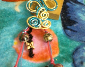 Jewelry bag wire beads and aluminum