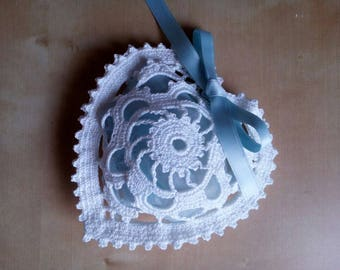 crochet wedding favor for baptism or wedding-placeholder ceremony-bag confetti-tribute gift occasion guests invited