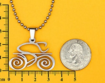 Tribal Bike Pendant