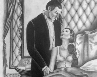 Gone With the Wind Drawing