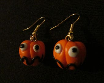 "Earrings ""Pumpkins Halloween"""