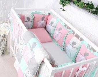 Baby cot set ballerina