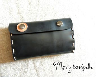 wallet with recycled tractor inner
