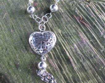 Heart Necklace all steel