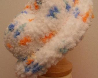 Boy Preemie white bonnet