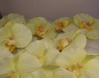 """the clip """"Orchidéa"""" Creat'Y. O.N - floral and feminine-"""