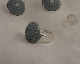 Creat grey set ' Y. O.N - elegant and unique-