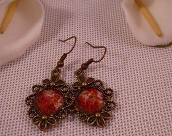 the earrings 'Duchess' Creat'Yon - simple and beautiful.