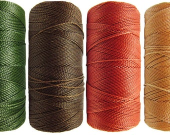 Thread nabbed macrame - Linhasita - autumn