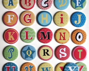 1 magnet Alphabet / letter magnet for child's name