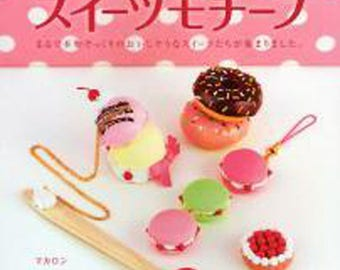 Clay Sweets patterns - Japanese book of crafts