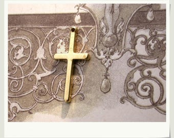 pure brass pendant cross