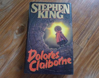 Dolores Claiborne STEPHEN KING First Edition Hardcover