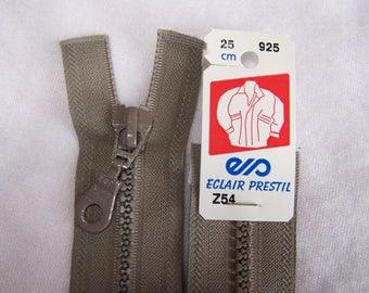 Zipper, molded, Greige, 25 cm (Z54 925)