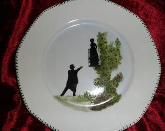 romeo and Juliet pattern plate