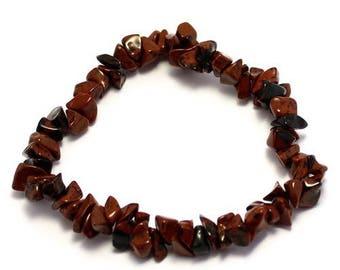 Baroque (mahogany) mahogany Obsidian bracelet