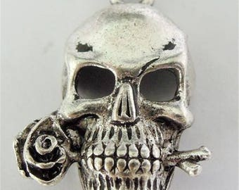 Pendant Gothic silver, 18 * 24 * 6 mm