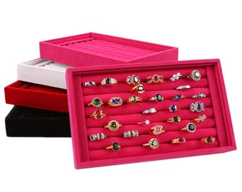 Red 1 display colors to choose from for your most beautiful rings within 15 days
