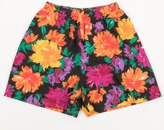 Vintage 80's Floral Short