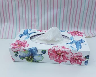 Wooder tissue  box cover