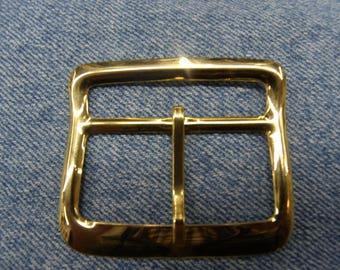 DECORATIVE gold metal buckle
