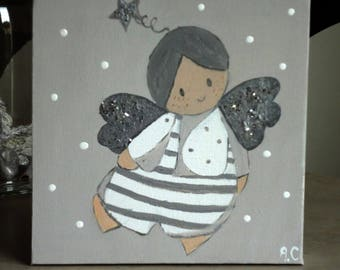 Tableau modern Angel for baby's room