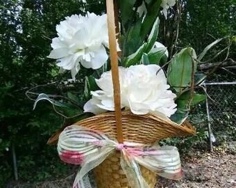Handcrafted basket