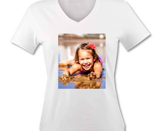 Tee personalized with your photo