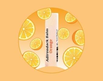 Adirondack Orange Lip Balm
