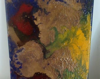 abstract painting series Imagines acrylic abstract painting