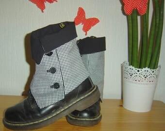 Gaiters chicken foot (sur-chaussures)
