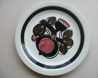 Vintage Norwegian 70's Plate by Figgjo Flint - Elvira by Turi Gramstad