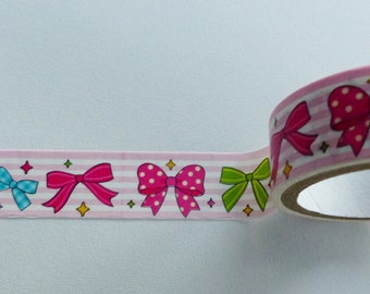Washi tape bow 2.5 meters and 15 mm wide washi tape
