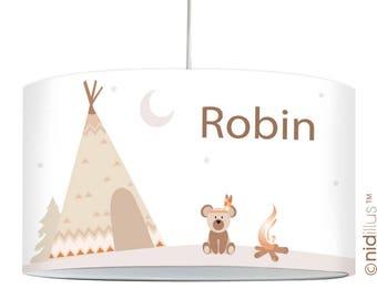 """Lamp """"Indian bear"""""""