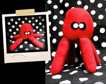 Plush red Jolly APLUCHES shaped