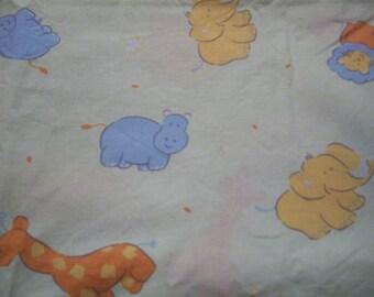 Animal pattern fabric coupon