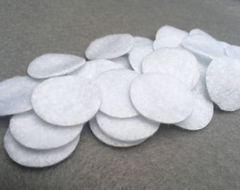Pack of 100 Felt Circles | Crafts Supplies | Handmade | Wholesale