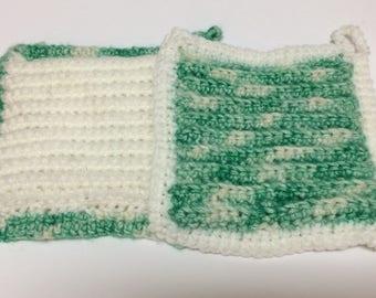 Hand Crocheted Potholders