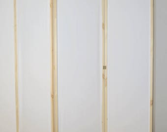 Folding Screen(White) HANDMADE