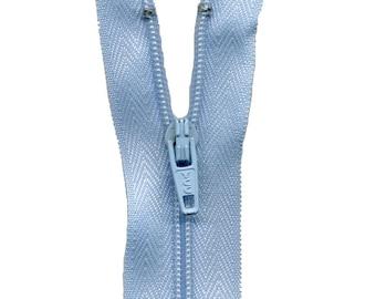 C583 Sky Blue Nylon zipper