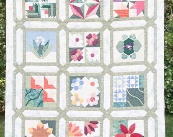 Hand quilted quilt | Etsy : hand quilted quilts - Adamdwight.com