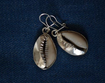 Teranga money cowrie Africa earrings
