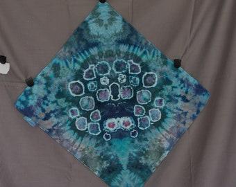 Handmade Ice Dye Bandana