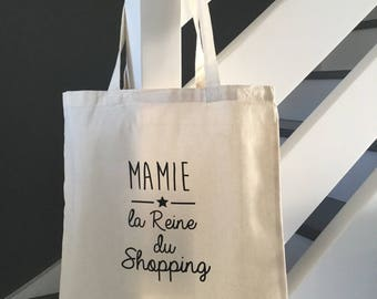 Tote bag, tote bag all customizable name Grandma