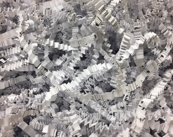 Sheet Music CRINKLE Cut Shreds. FREE SHIPPING.
