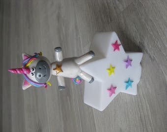 Pilot star with a beautiful Unicorn for children