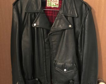 Vintage Motorcycle Jacket Mens